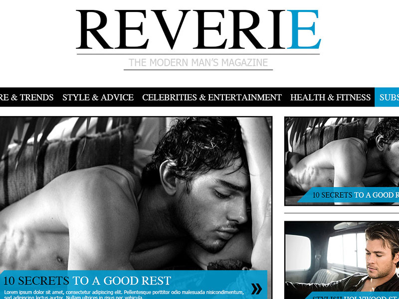 Reverie - Wordpress magazine theme