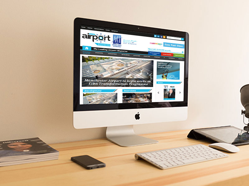 Airport Business Website