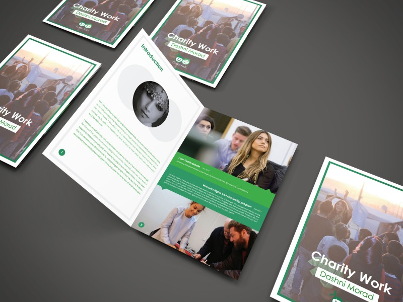 charity-work-brochure