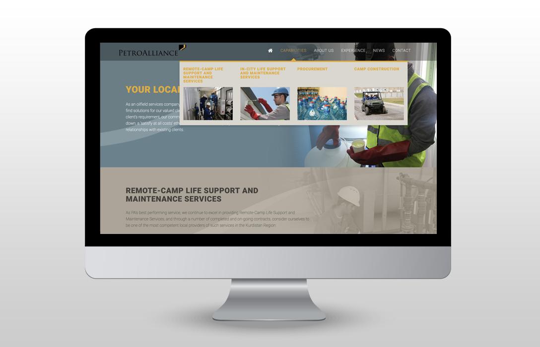 petroalliance-website